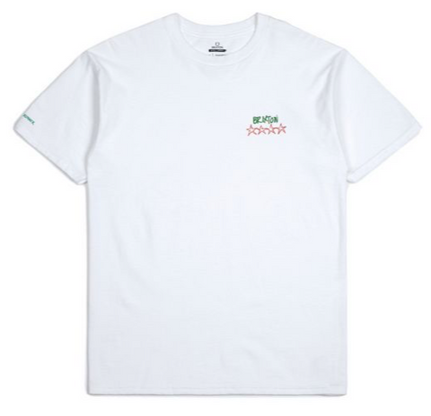 Brixton x Strummer Set Tailored Tee White