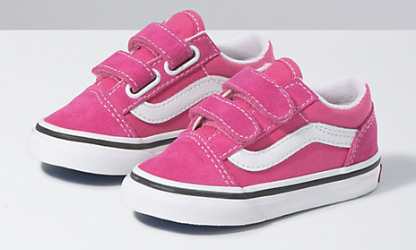 Vans Toddler Old Skool V Fushia