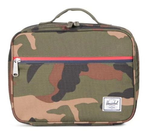 Herschel Pop Quiz Lunch 600D -Woodland Camo