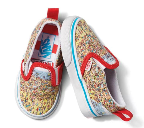 Vans x Where's Waldo? Toddler Slip On