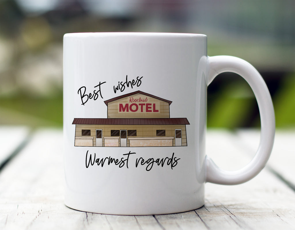 Best Wishes, Warmest Regards Mug