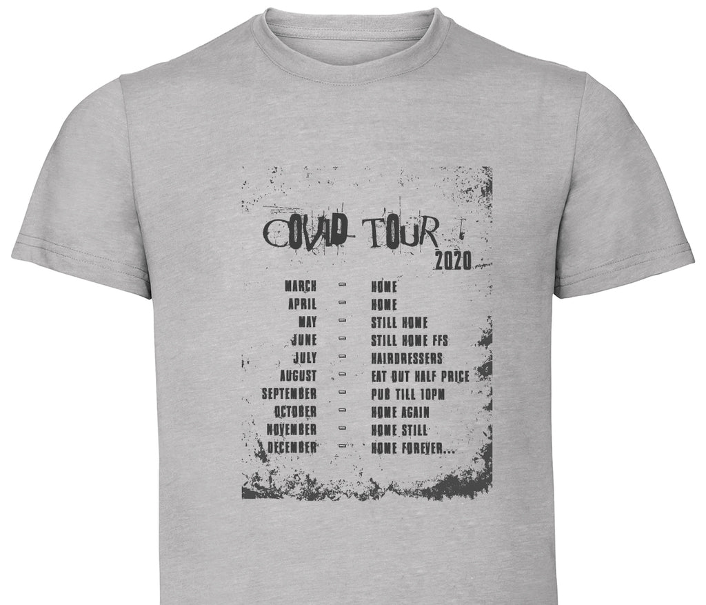 Limited Edition Covid On Tour Tee