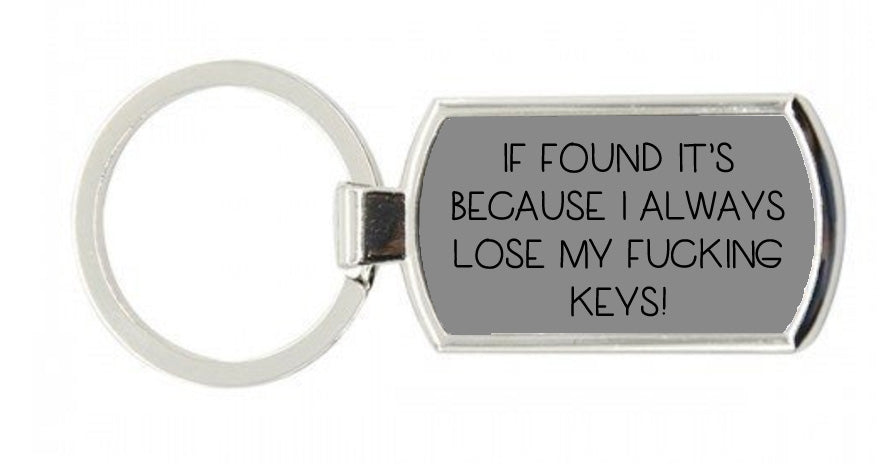 If Found Keyring