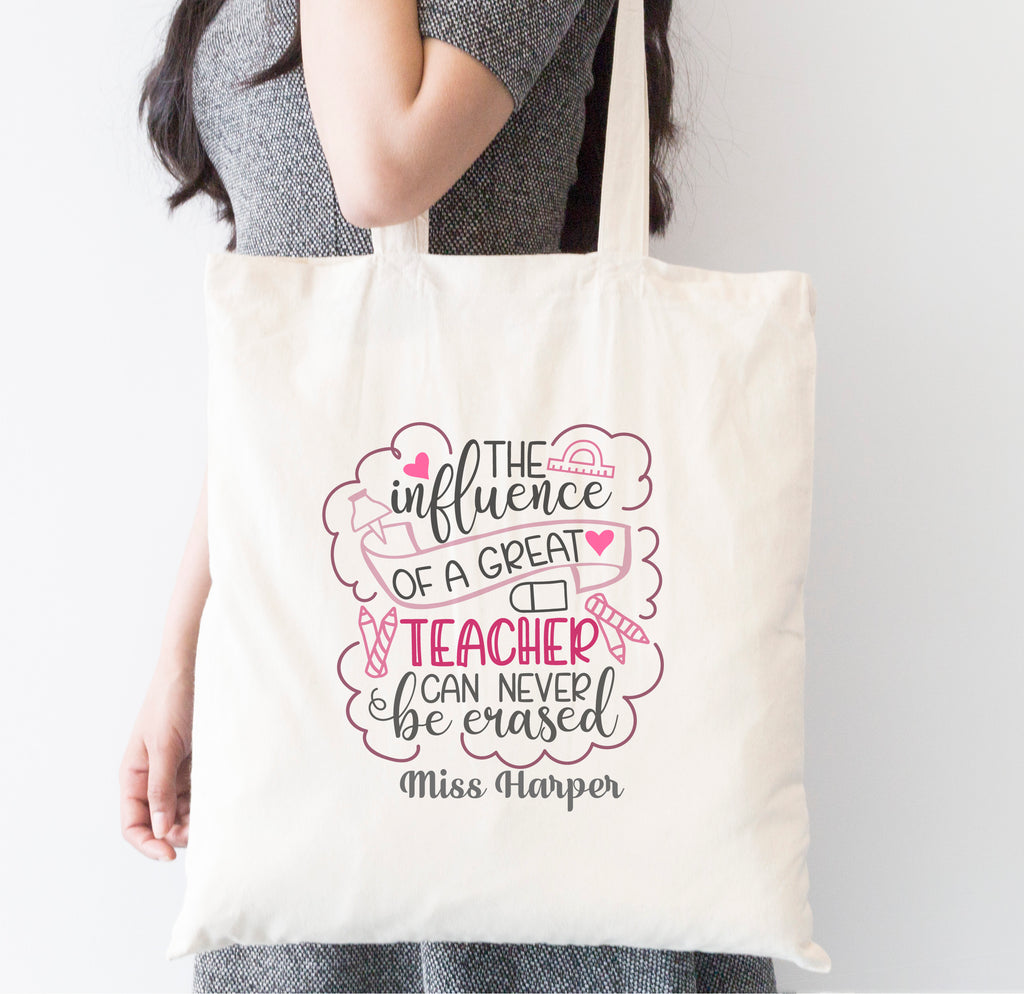 Influence Of A Great Teacher Tote