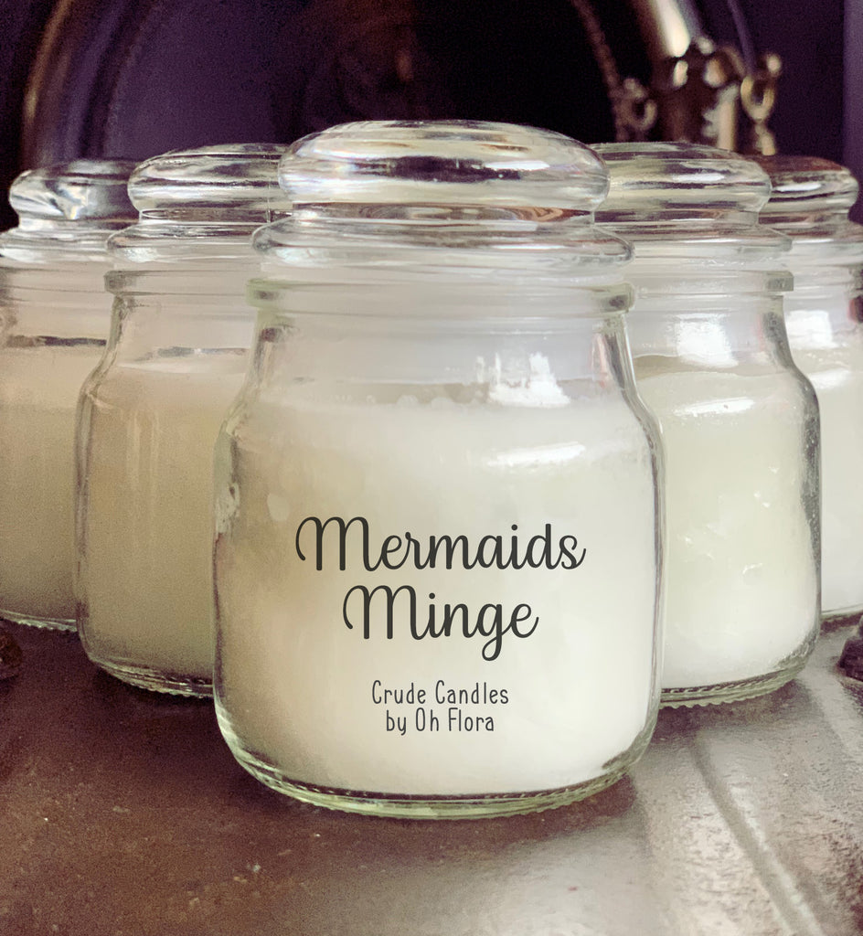 Mermaids Minge Small Jar Candle