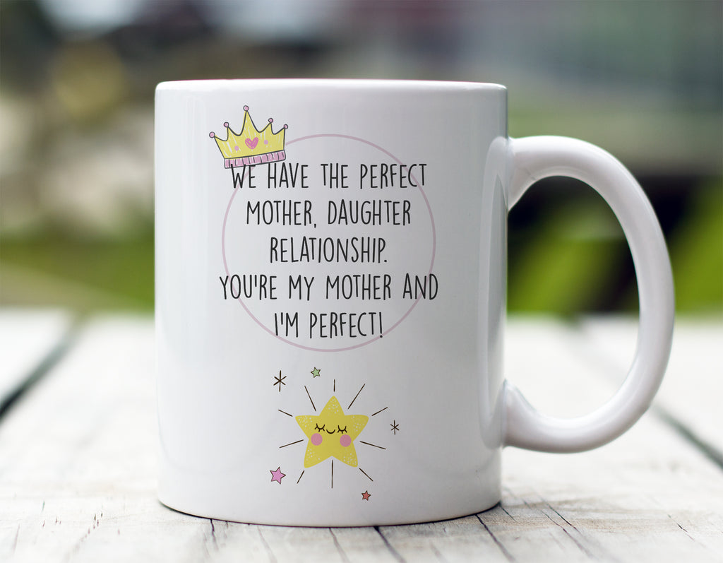 Mother Daughter Relationship Mug