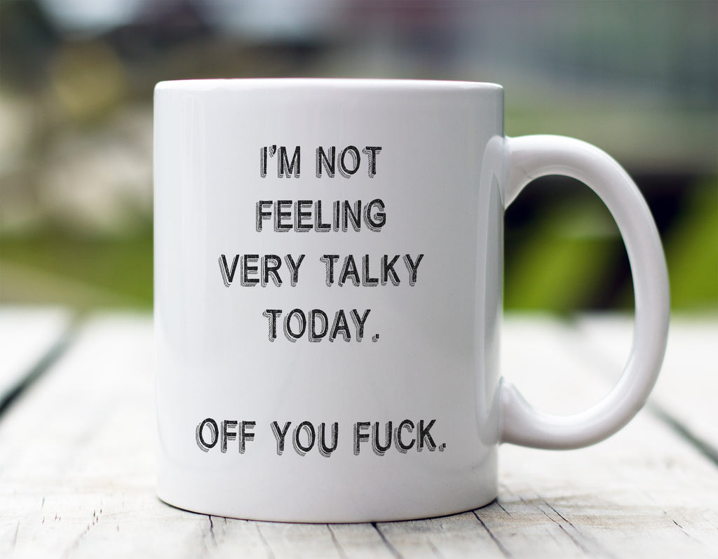 Not Very Talky Mug