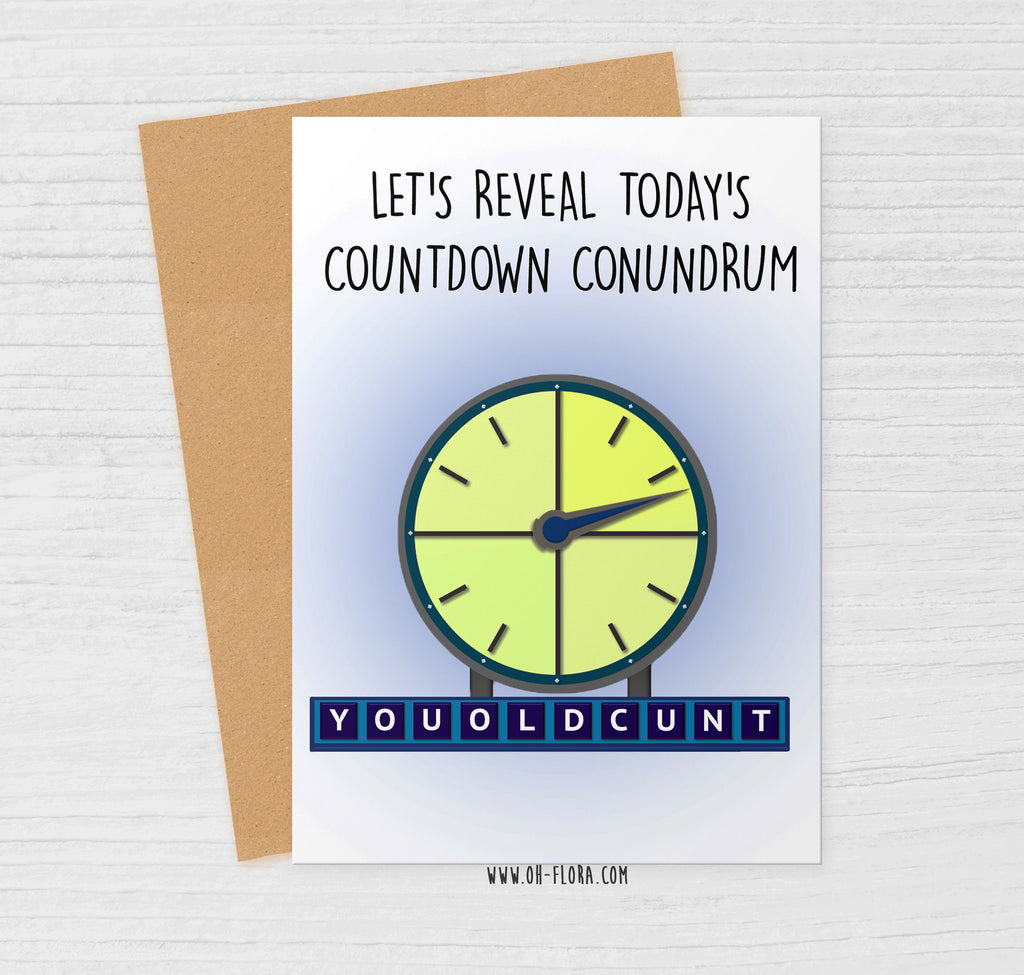 Countdown Cunt