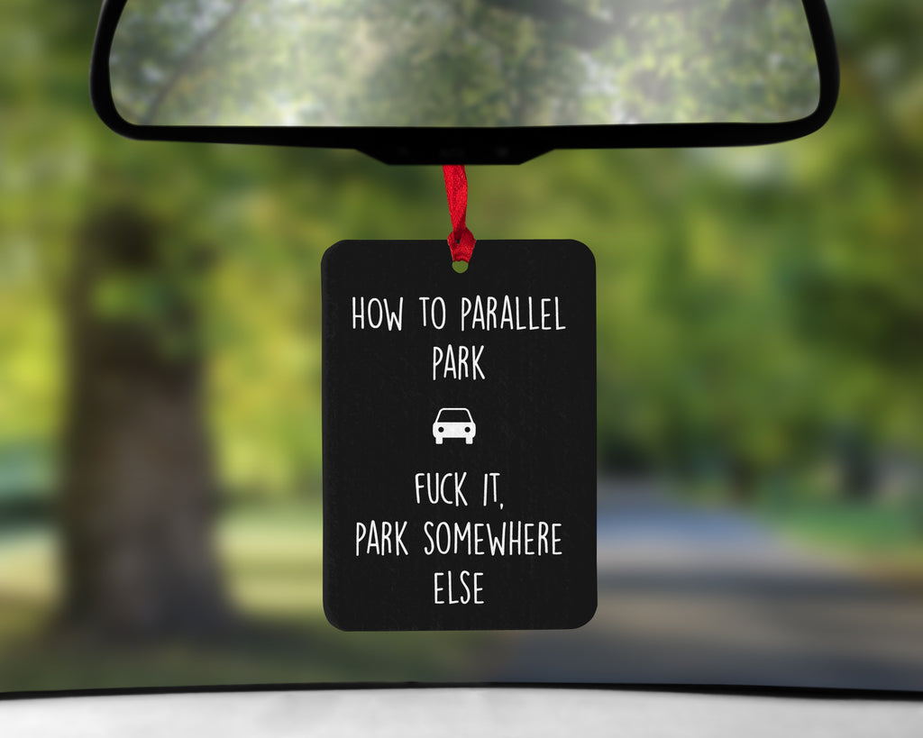 Parallel Park Car Air Freshener