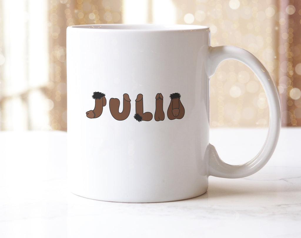 Personalised Willy Mug V2