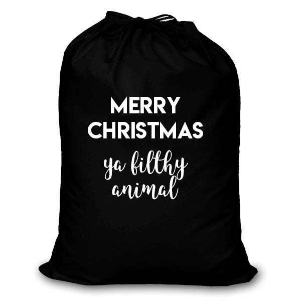 Filthy Animal Santa Sack