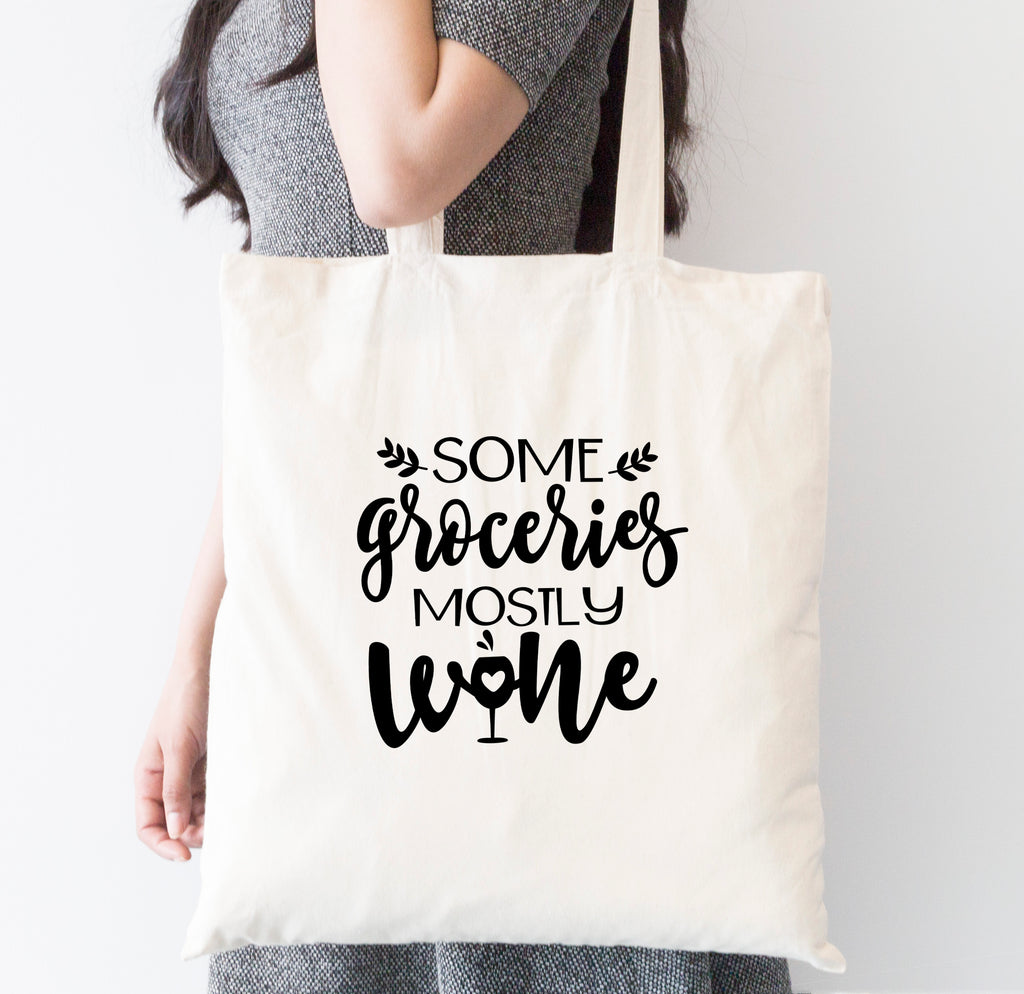 Some Groceries Tote Bag
