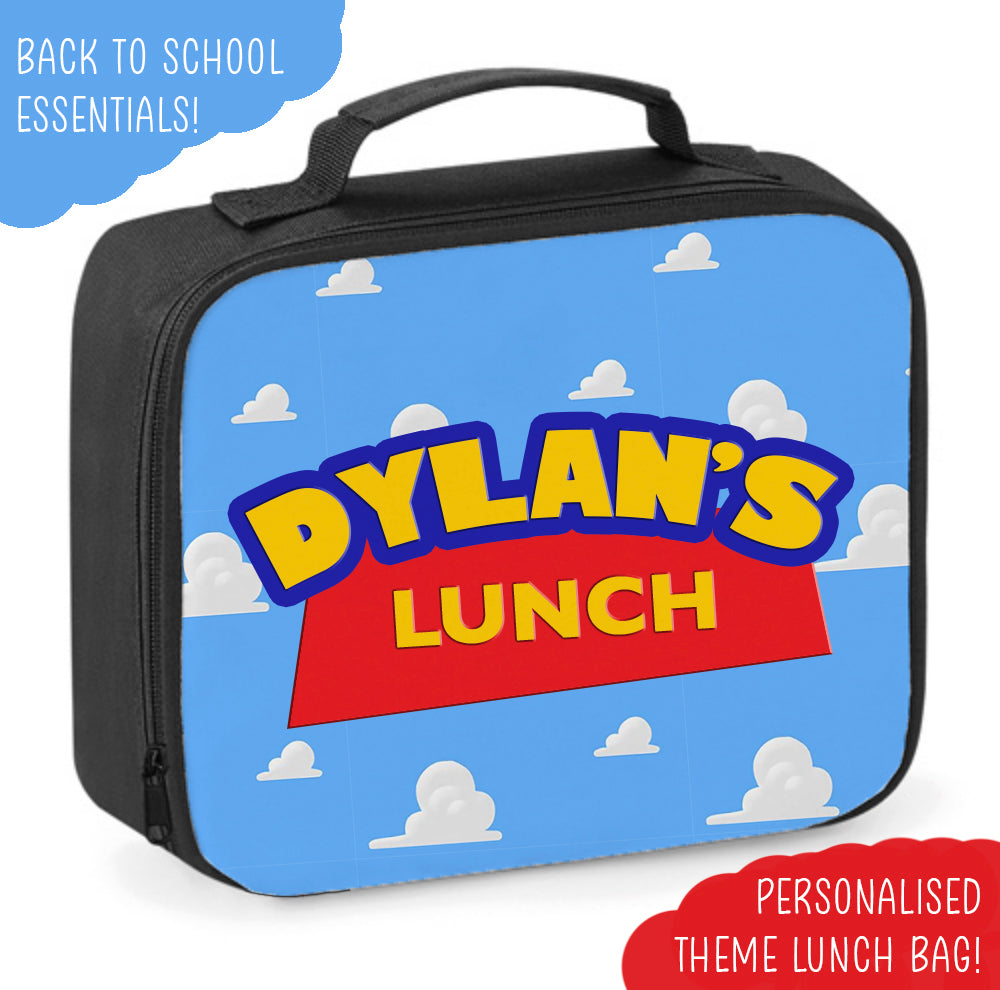 Personalised Cloudy Lunch Bag