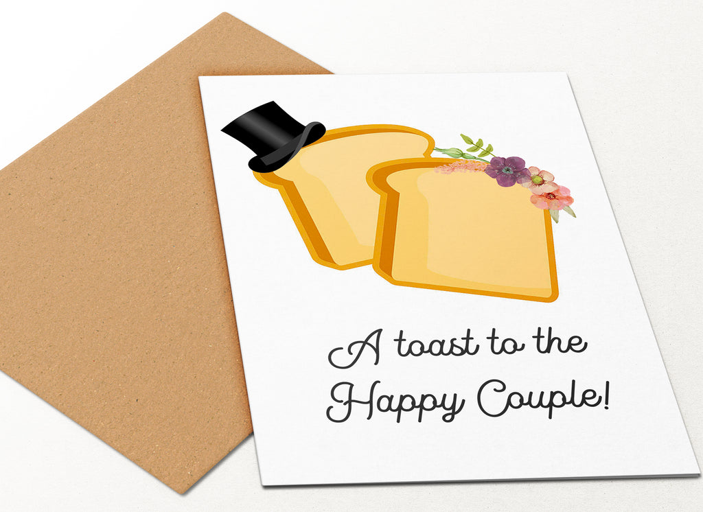 Toast The Happy Couple
