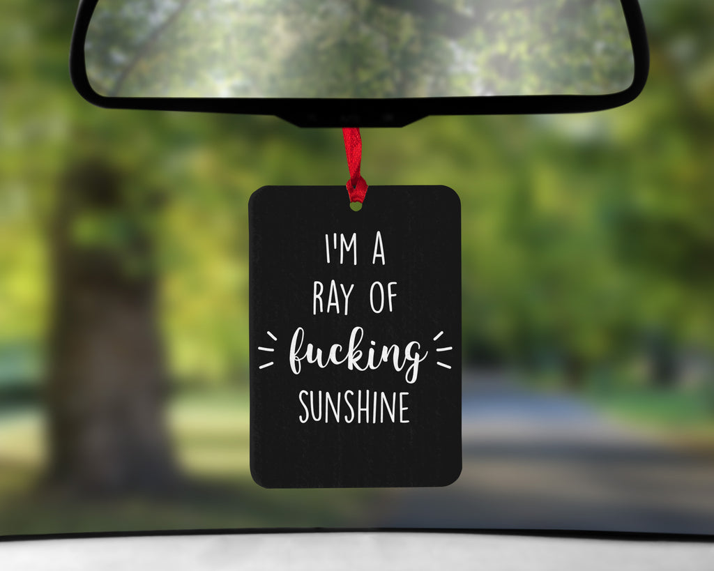 Ray of Sunshine Car Air Freshener