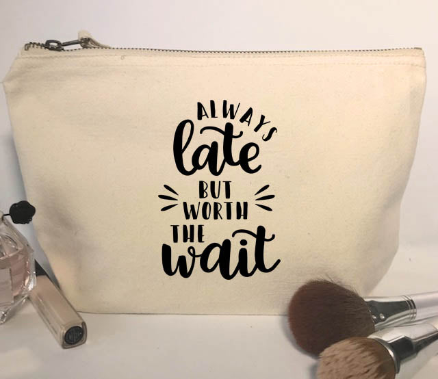 Always Late Make-Up Bag