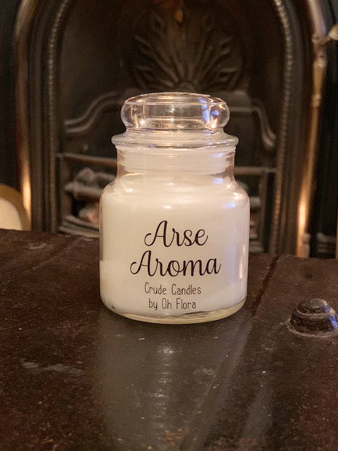 Small Arse Aroma Jar Candle (Bouquet Scent)