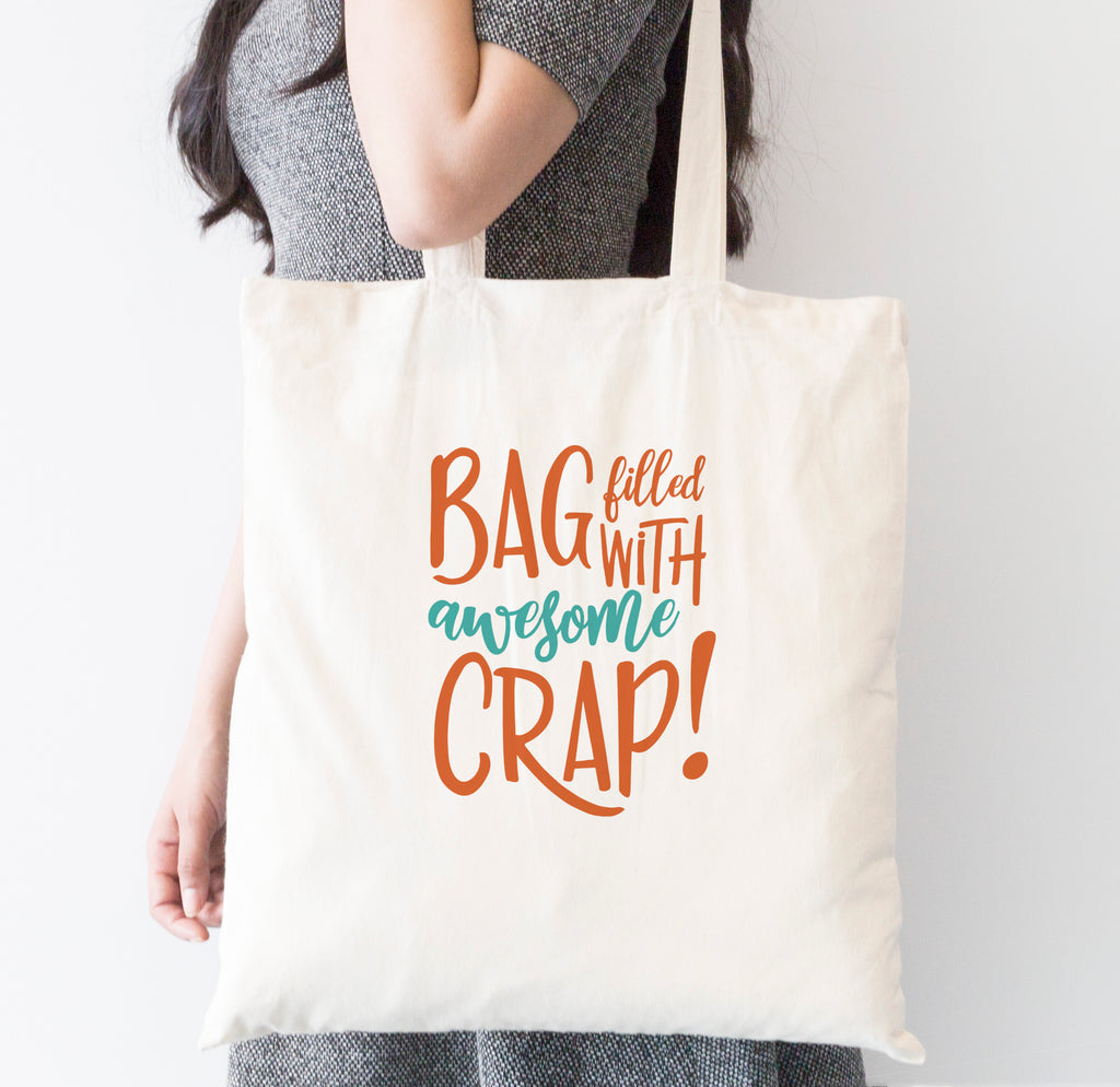 Awesome Crap Tote Bag