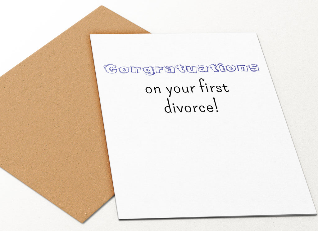 First Divorce