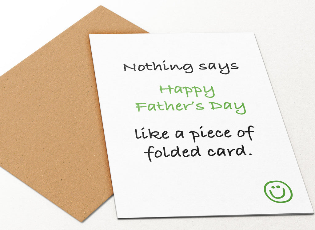 Folded Father's Day