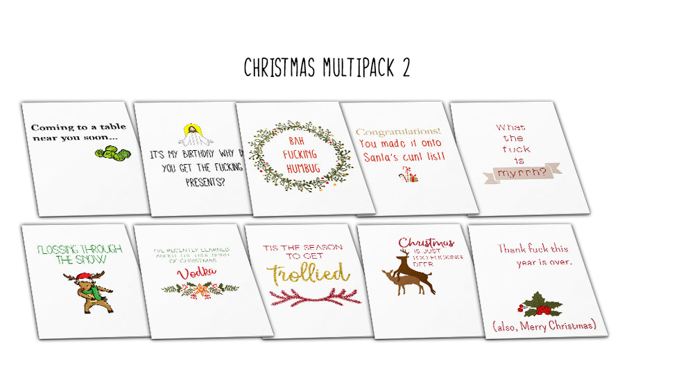 Christmas Multipack A6 (Pack2)
