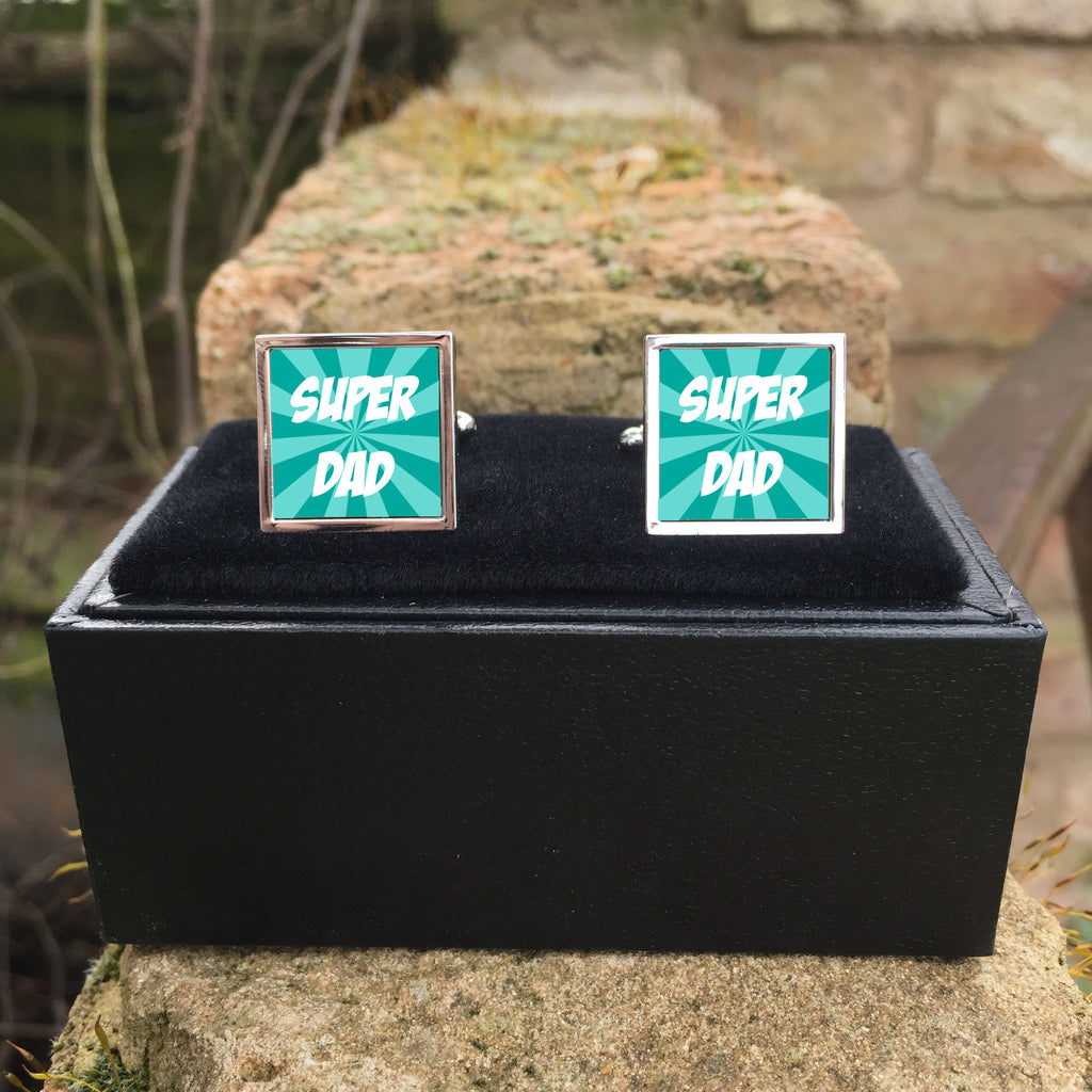 Super Dad Cuff Links