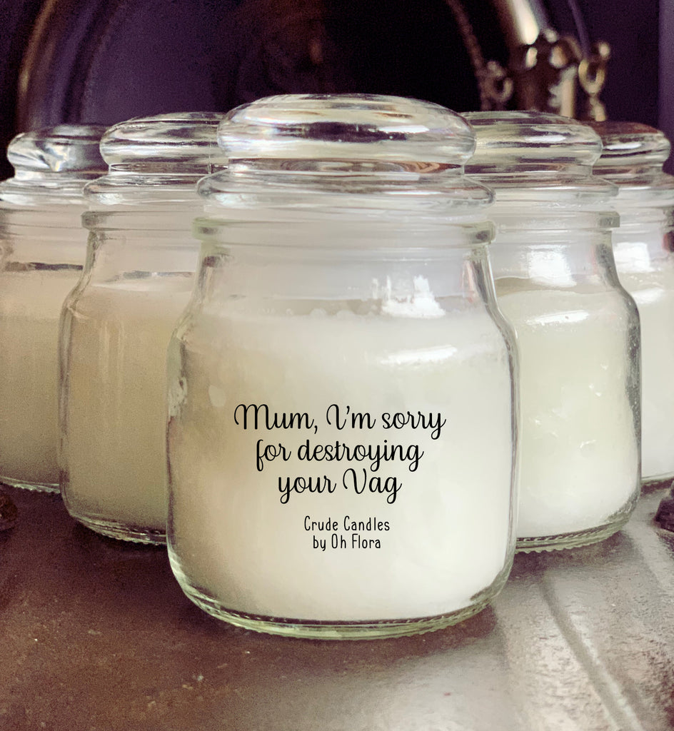 Destroying Your Vag Small Candle