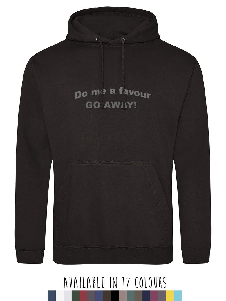 Men's Do Me A Favour Hoodie
