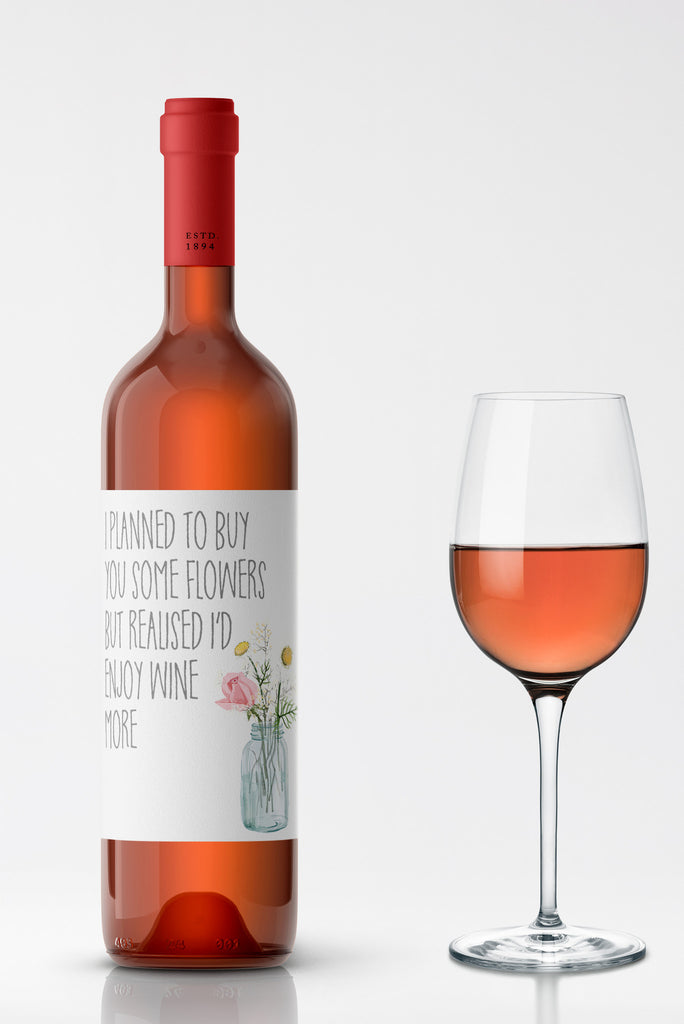 Enjoy Wine More Wine Label