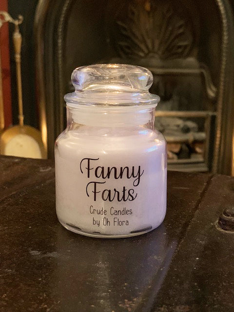 Small Fanny Farts Jar Candle