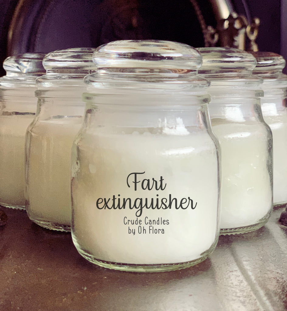 Fart Extinguisher Small Jar Candle