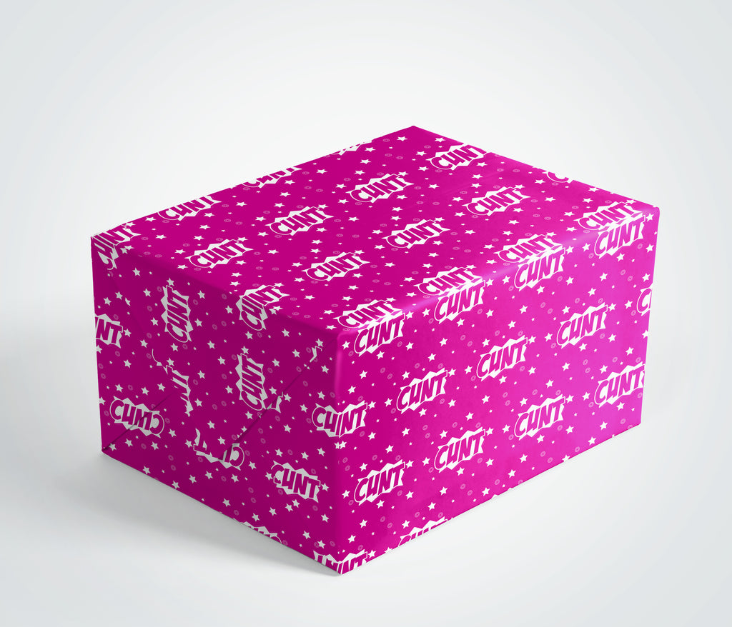 Cunt Gift Wrap (Pink)