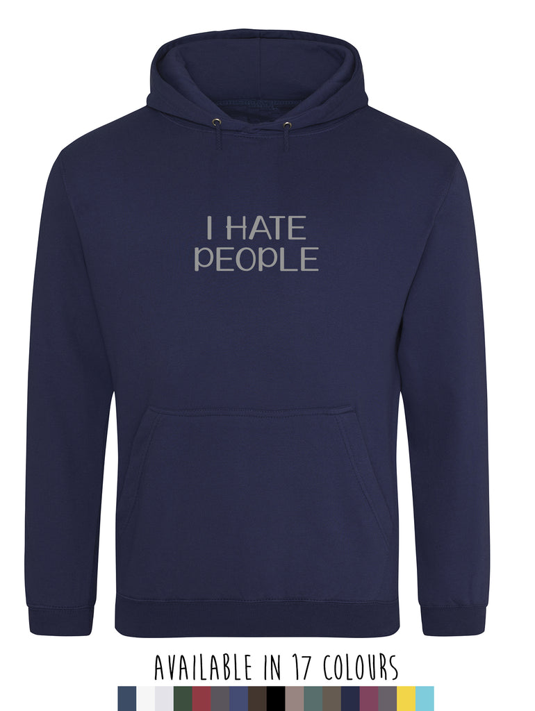Men's Hate People Hoodie