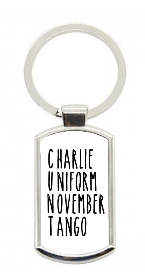 Charlie Uniform... Keyring