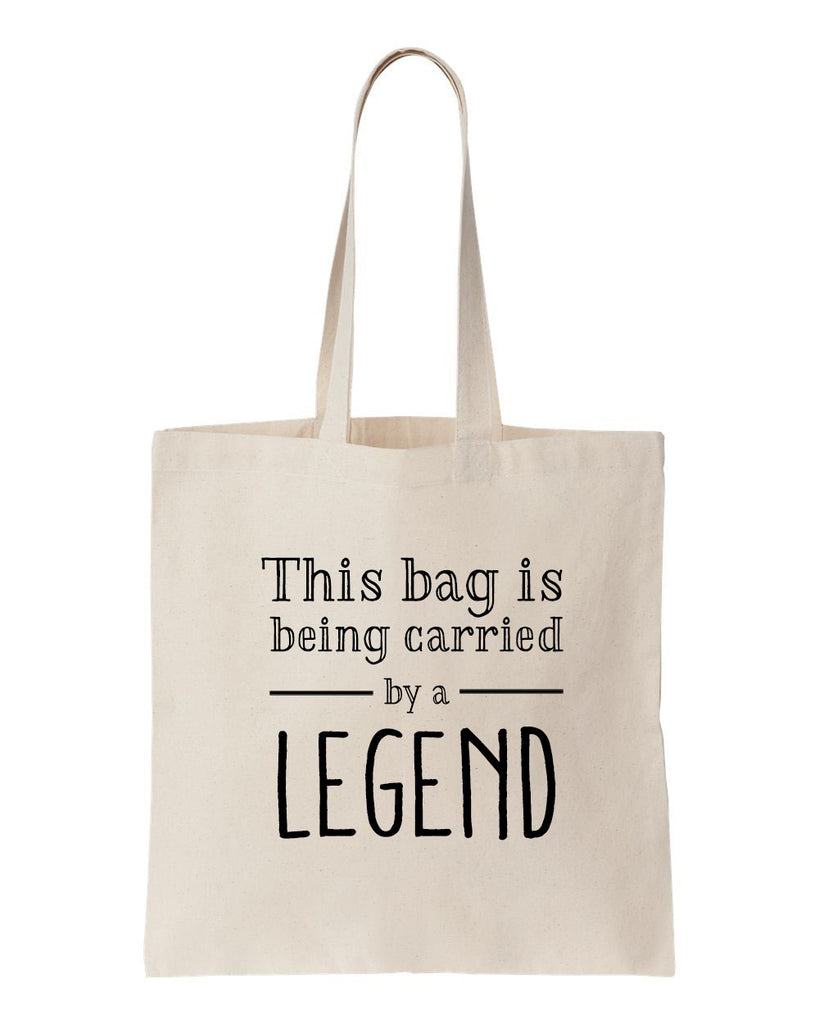 Carried By A Legend Tote Bag
