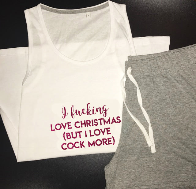 Love Cock More Short Pyjamas