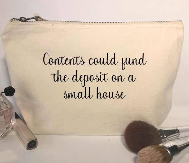 Contents Could Fund Make-Up Bag