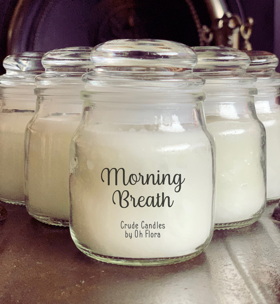 Small Morning Breath Jar Candle