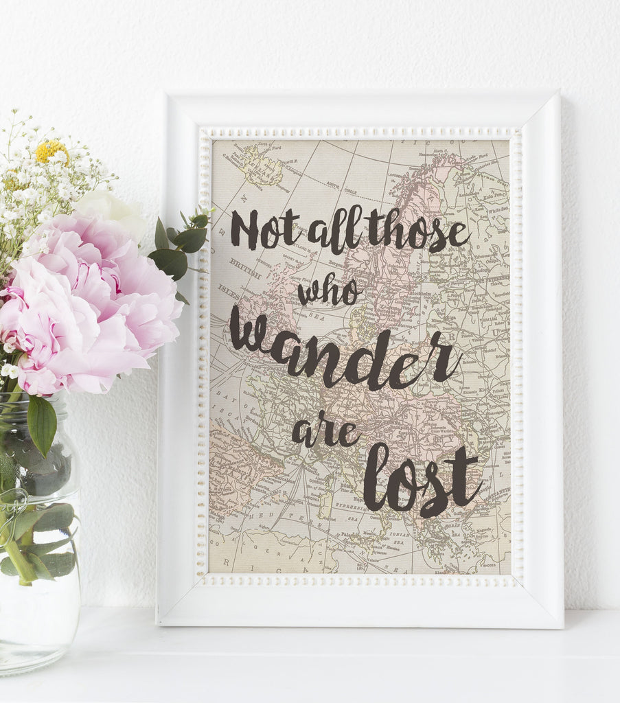 Not All Those Who Wander