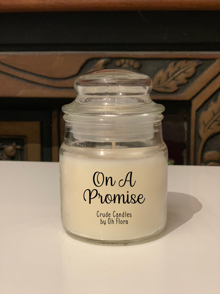 On A Promise Jar Candle
