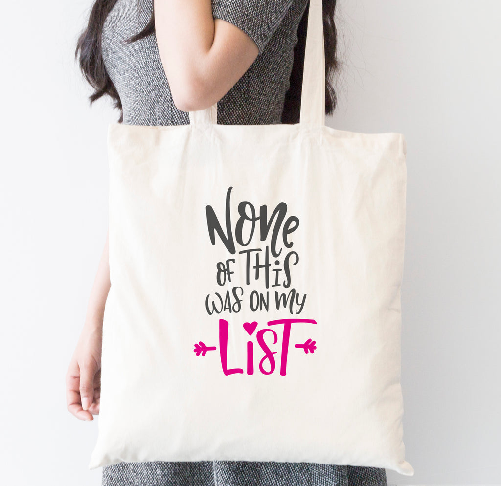 On My list Tote Bag
