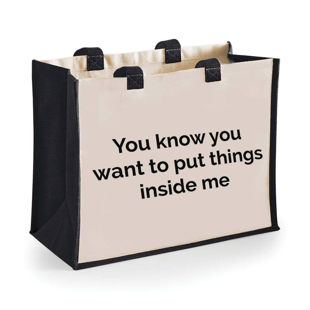 Put Things In Me Shopping Bag