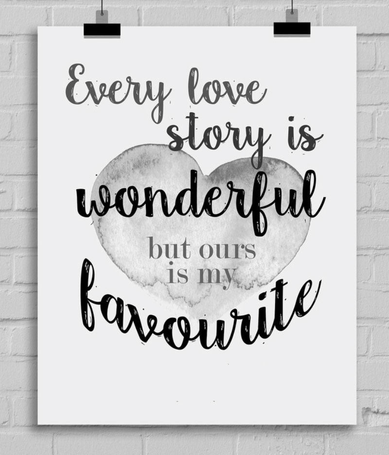 Every Love Story is Wonderful