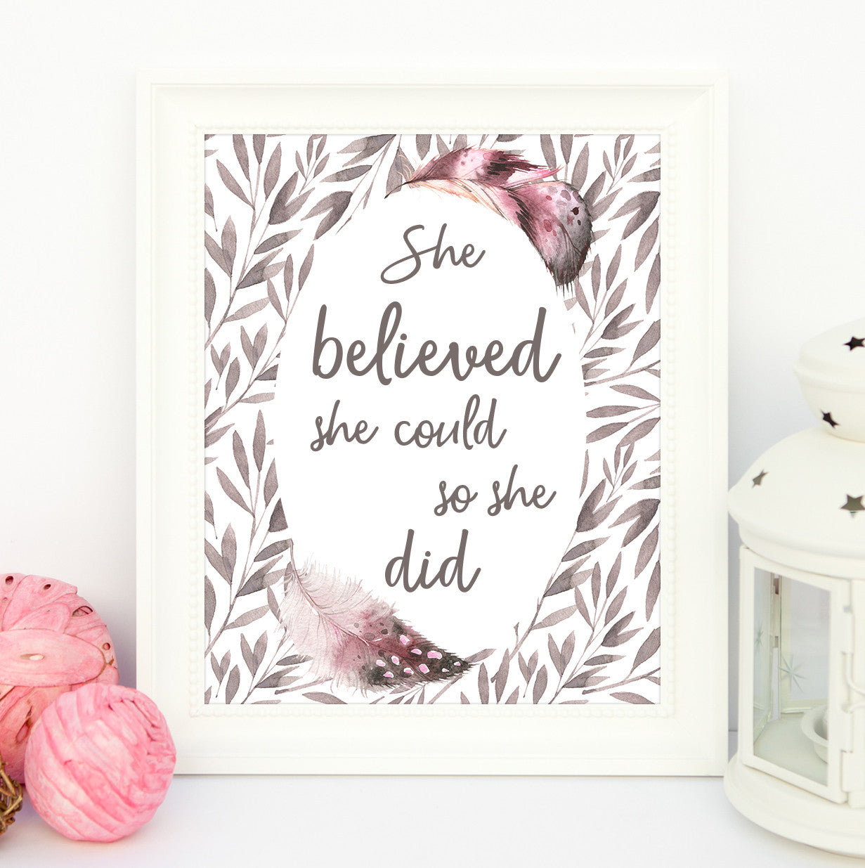 She Believed She Could Oh Flora