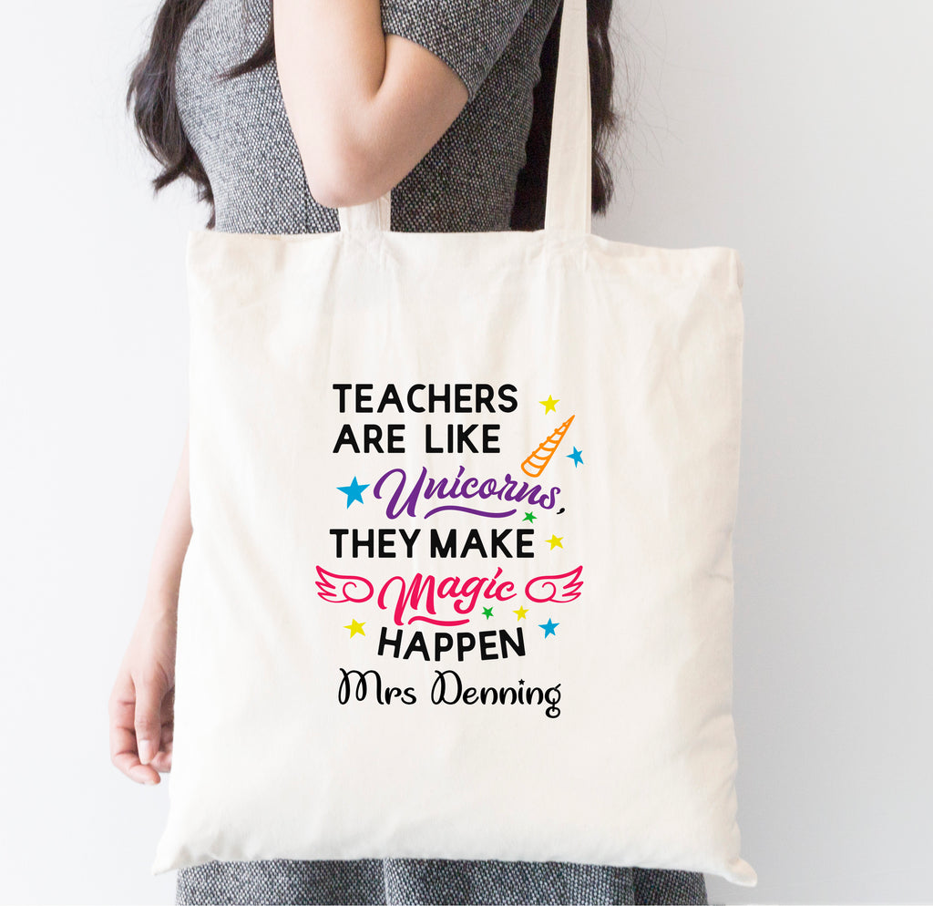 Teachers Are like Unicorns Tote