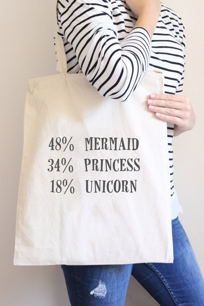48% Mermaid Tote Bag