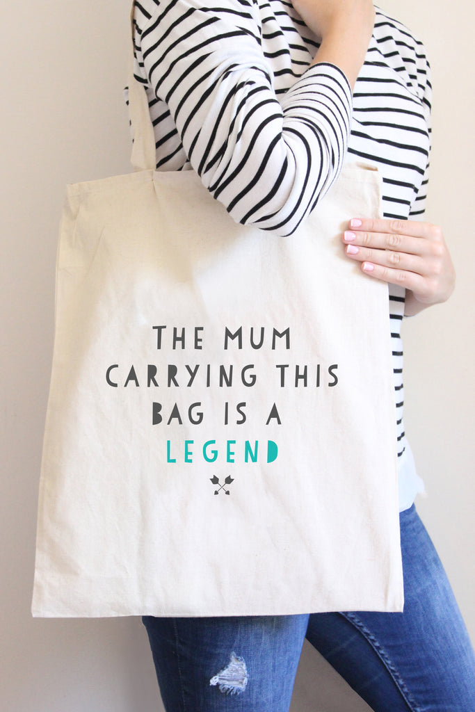 Mum Legend Tote Bag