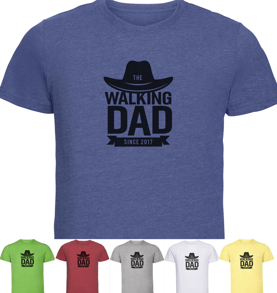 Walking Dad Men's tshirt