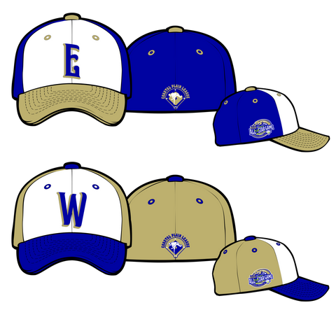 2017 Official All-Star East & West Hats