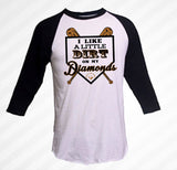 Baseball Cut Dirt Diamond Shirt